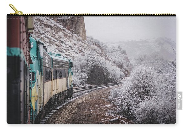 Snowy Verde Canyon Railroad Carry-all Pouch