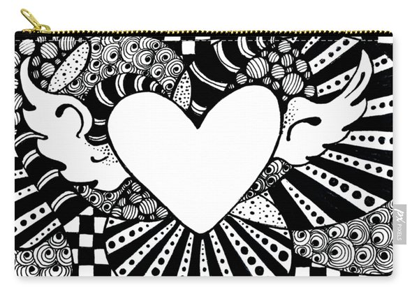 Soaring Heart  Carry-all Pouch