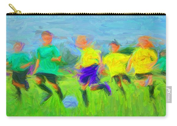 Soccer 3 Carry-all Pouch