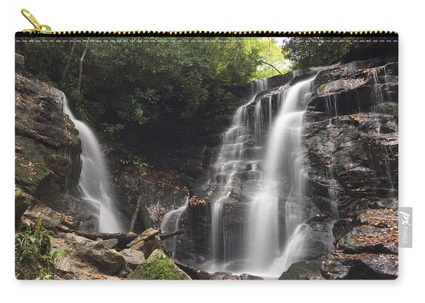 Soco Falls-landscape Version Carry-all Pouch