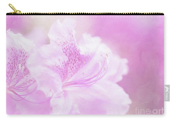 Soft And Lovely Pink Rhododendrons  Carry-all Pouch
