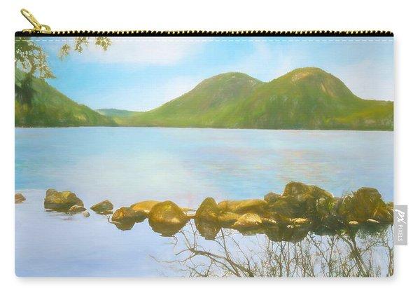 Soft Art Photograph Jordan Pond Acadia Nat. Park Maine Carry-all Pouch