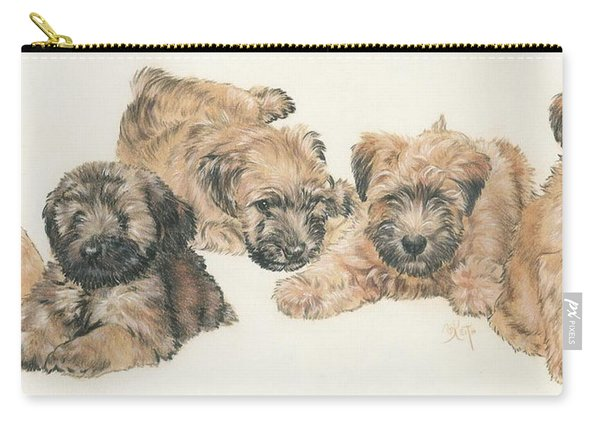 Soft-coated Wheaten Terrier Puppies Carry-all Pouch