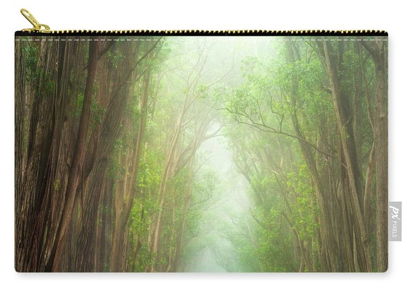 Soft Forest Light Carry-all Pouch