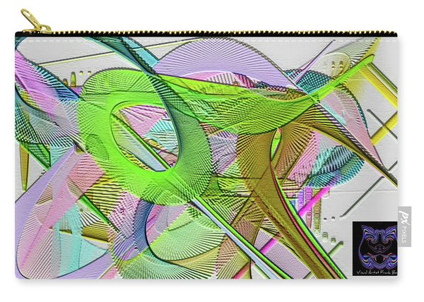 Carry-all Pouch featuring the digital art Soft Light by Visual Artist Frank Bonilla