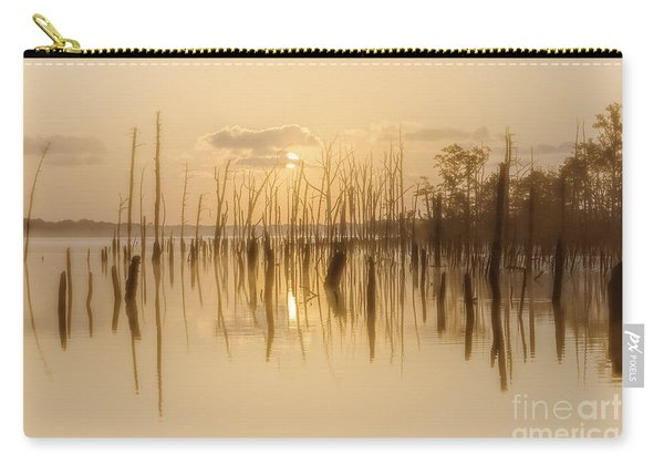 Soft Peach Sunrise At Manasquan Carry-all Pouch