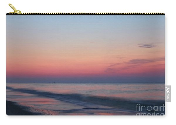 Soft Pink Sunrise Carry-all Pouch