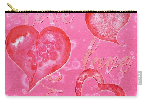 Soft Valentine Carry-all Pouch