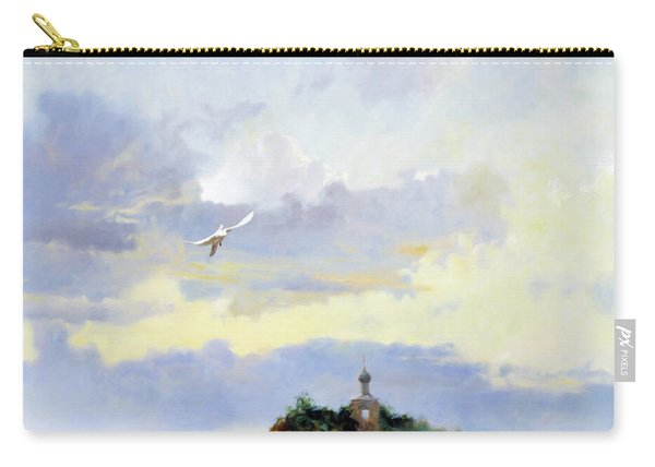 Softly Fly Away Carry-all Pouch