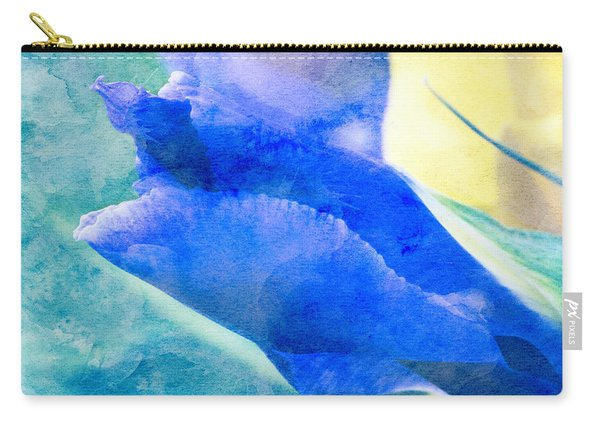 Softly Iris Carry-all Pouch