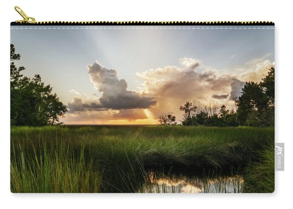 Softly The Evening Came With The Sunset Carry-all Pouch