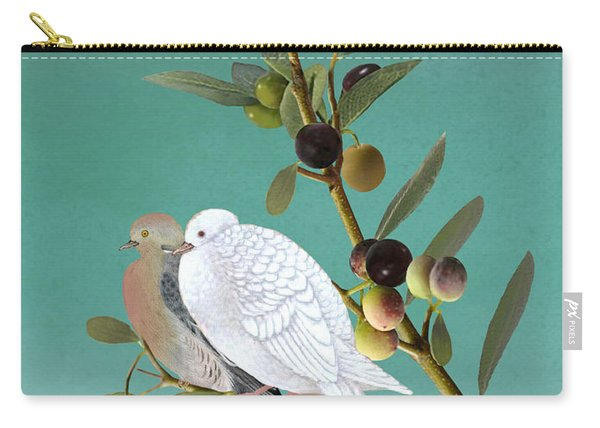 Sojourn Of The Dove Carry-all Pouch