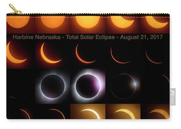 Solar Eclipse - August 21 2017 In Harbine Nebraska Carry-all Pouch