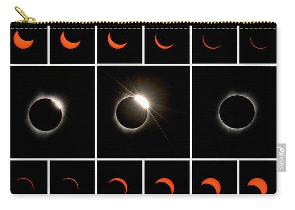 Solar Eclipse Composite Carry-all Pouch