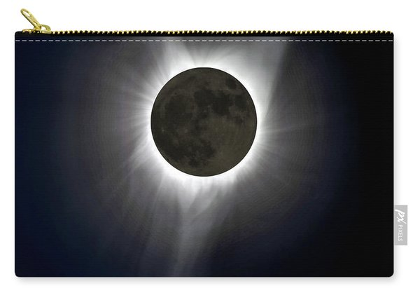 Solar Eclipse Corona Carry-all Pouch
