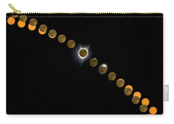 Solar Eclipse Stages 2017 Carry-all Pouch