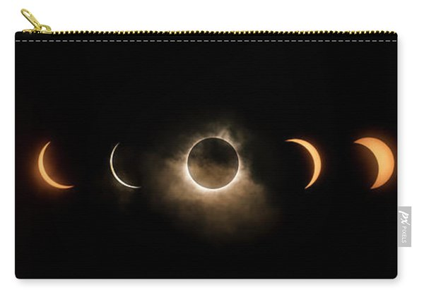 Solar Eclipse Progression Carry-all Pouch