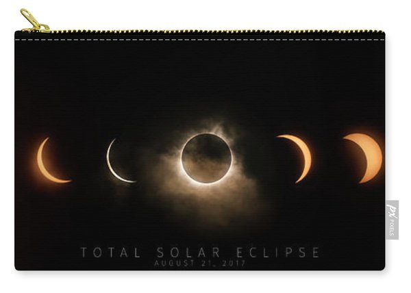 Solar Eclipse Progression-titled Carry-all Pouch