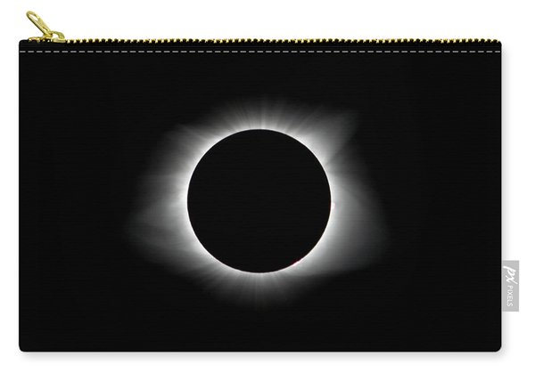 Solar Eclipse Ring Of Fire Carry-all Pouch