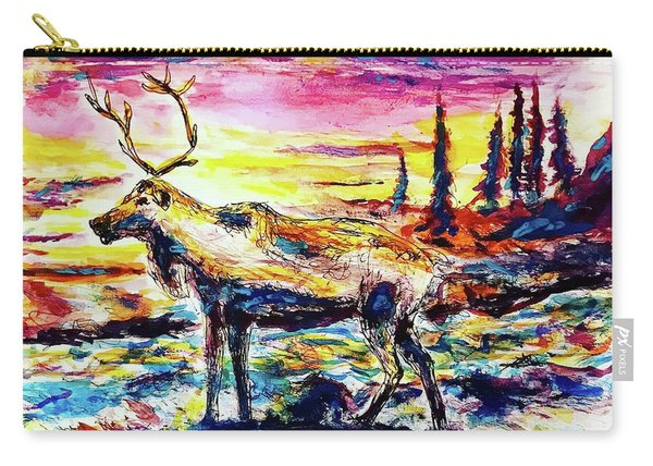 Solitude Caribou Carry-all Pouch