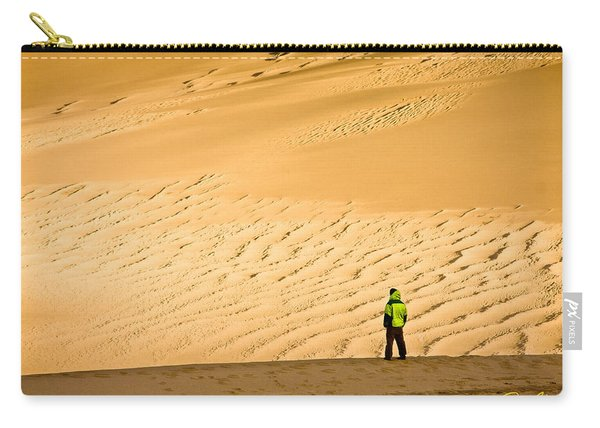 Solitude In The Dunes Carry-all Pouch