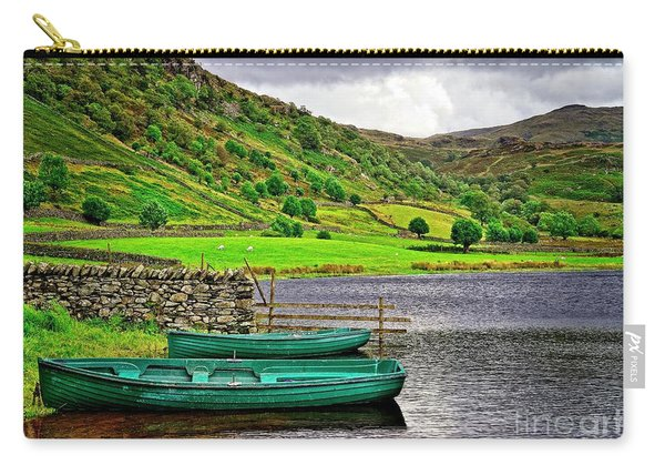 Solitude In The Lake District  Carry-all Pouch