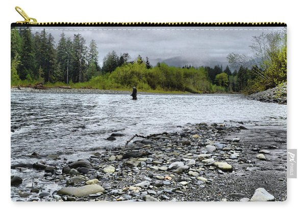 Solitude On The River Carry-all Pouch