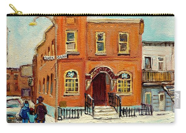 Solomons Temple Montreal Bagg Street Shul Carry-all Pouch