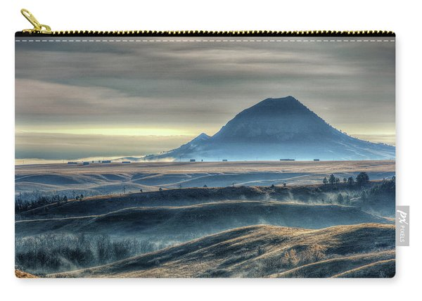 Some Bear Butte Fog Carry-all Pouch