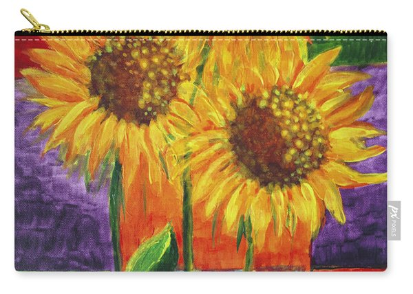 Sonflowers I Carry-all Pouch