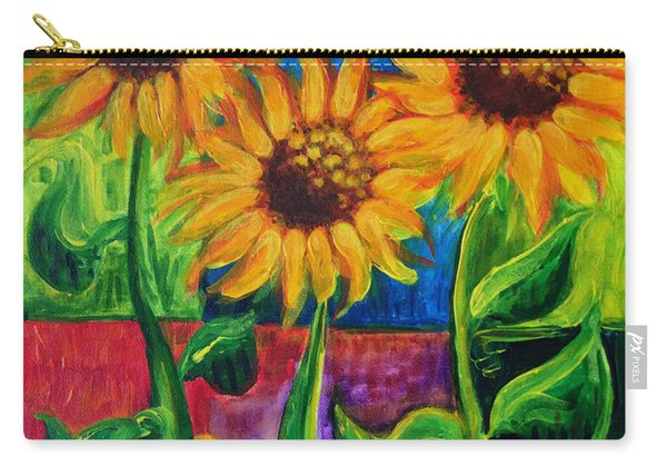 Sonflowers II Carry-all Pouch