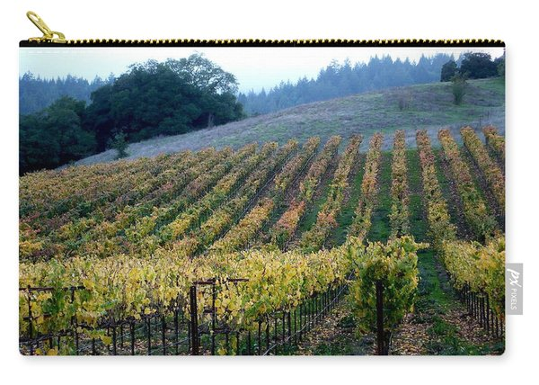 Sonoma County Vineyards Near Healdsburg Carry-all Pouch