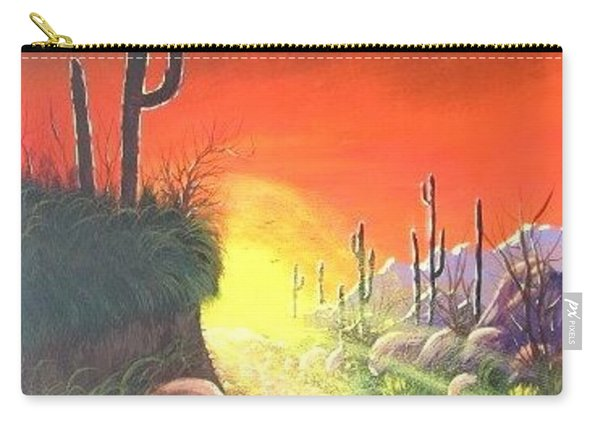 Sonora Sunrise Carry-all Pouch
