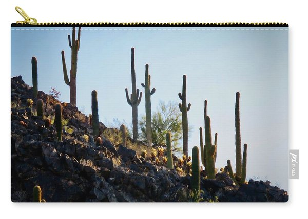 Sonoran Desert Saguaro Slope Carry-all Pouch