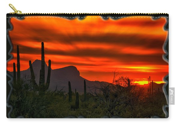 Sonoran Sunset H38 Carry-all Pouch