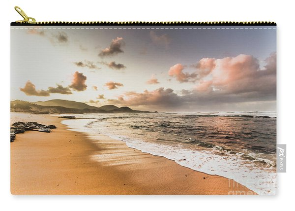 Soothing Seaside Scene Carry-all Pouch