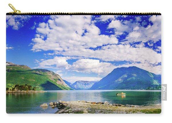 Soreimsfjorden Carry-all Pouch