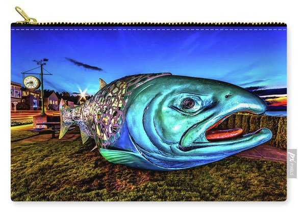 Soul Salmon During Blue Hour Carry-all Pouch