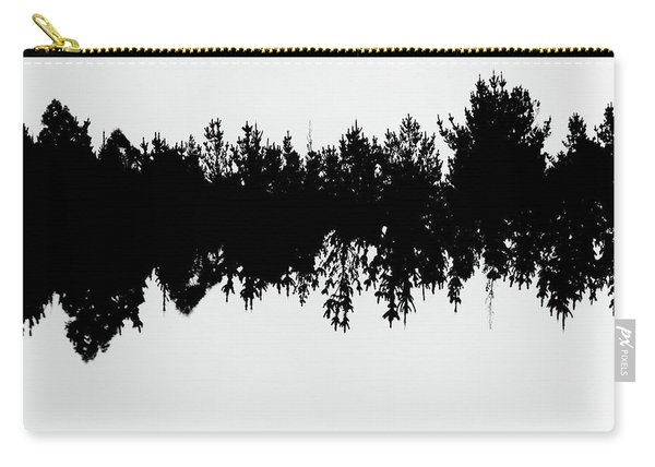 Sound Waves Made Of Trees Reflected Carry-all Pouch