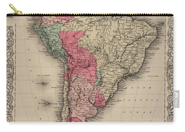 South America Carry-all Pouch