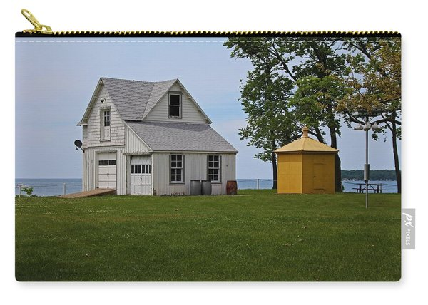 South Bass Island Lighthouse Barn And Oil Storage Building I Carry-all Pouch