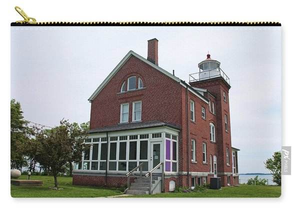 South Bass Island Lighthouse- Horizontal Carry-all Pouch