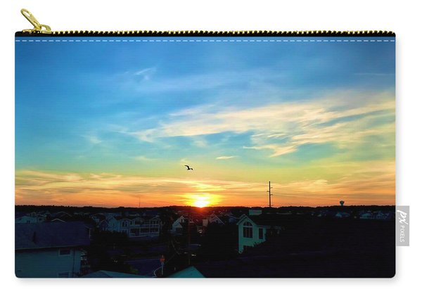 South Bethany Sunset Carry-all Pouch