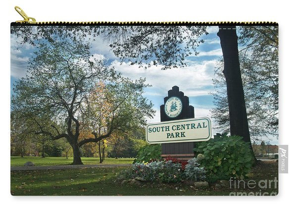 South Central Park - Autumn Carry-all Pouch