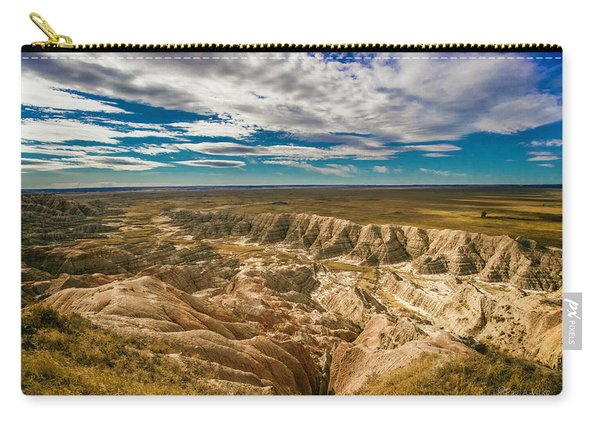 South Dakota Bad Lands.... Carry-all Pouch