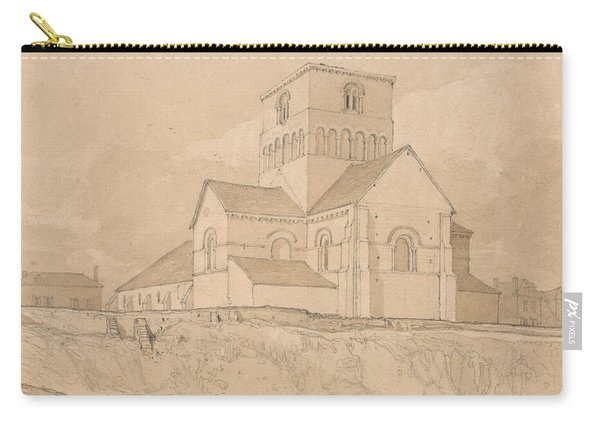 South-east View Of The Church Of Lery Carry-all Pouch