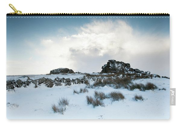 South Hessary Tor In The Snow II Carry-all Pouch