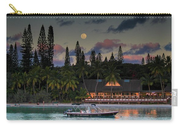 South Pacific Moonrise Carry-all Pouch