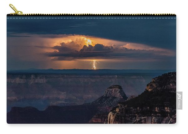 South Rim Lightning Storm Carry-all Pouch