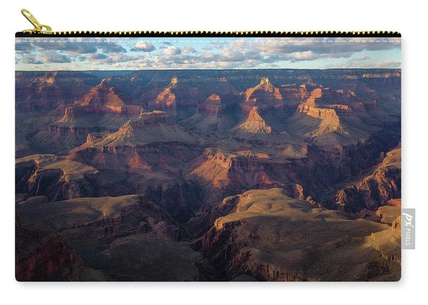 South Rim - Evening Light At Grand Canyon Arizona Carry-all Pouch